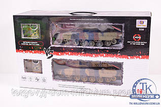 Танковый бой на радиоуправлении (50/34/21см.) 558
