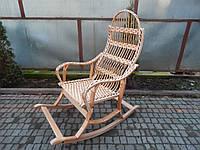 Плетеное кресло-качалка розборное