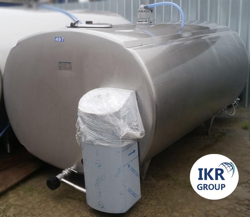 Охладитель молока Б/У ALFA LAVAL 5000 закрытого типа объемом 5000 литров