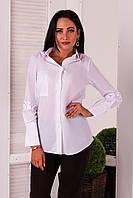 """Женская рубашка """" Коттон """" Dress Code, фото 1"""