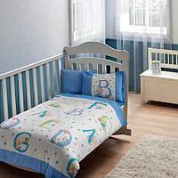 Постельное белье для новорожденных ТАС Sweet Animals Baby Blue