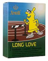 Презервативы Amor Long Love 3 шт.
