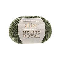 Alize Merino Royal (Ализе Мерино Рояль) хаки №284 (Пряжа, нитки для вязания)