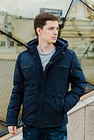 Куртка мужская чёрная, синяя FREEVER 8214, фото 1