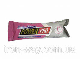PowerPro Lady Fitness Bar l-carnitin - бромелейн 50g (Диня)