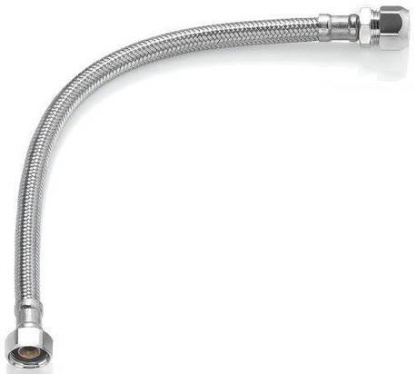 Шланг водяной TUCAI TAQ HG-1212-800 200166 1/2*1/2 ВВ 0,8 м нержавейка, фото 2