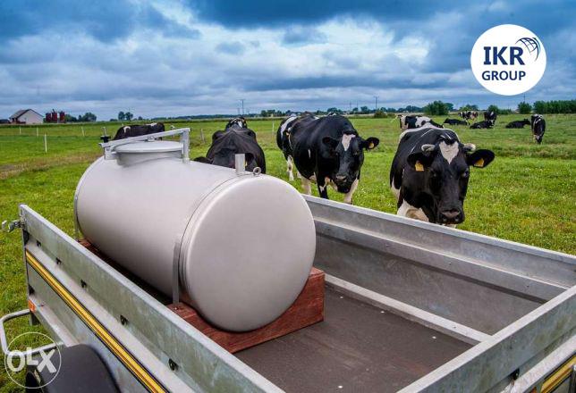 Емкость Б/У для транспортировки молока и воды 300 литров