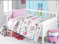 Постельное белье для новорожденных Brielle 502 V3 Pink (ранфорс)