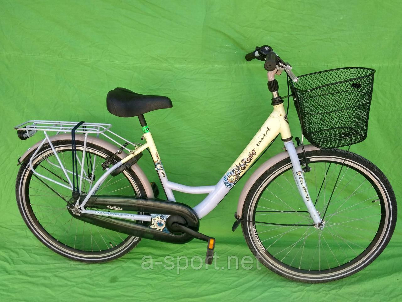 Жіночий велосипед, дамка Alpina, колеса 26