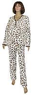 Пижама теплая махровая для беременных и кормящих 18065 Key Leo Milk вельсофт, р.р.44-58