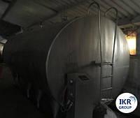 Танк охладитель молока Б/У FABDEC 15 000 закрытого типа объемом 15 000 литров, фото 1