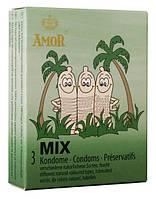 Презервативы Amor Mix 3 szt