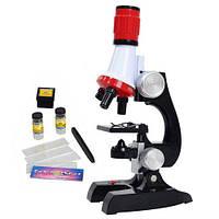 Детский микроскоп 2 в 1 с подсветкой 100-1200х C2121, фото 1