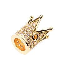 Бусина корона (1), золото, фото 1