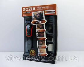 Машинка для стрижки триммер Rozia HQ-5100 6 в 1