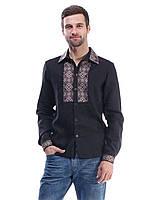 Мужская вышиванка с длинными рукавами (S в расцветках)