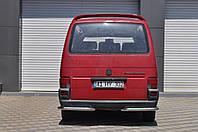 Защита заднего бампера VW T4