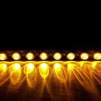 Гибкие светодиодные дневные ходовые огни HR-1202, 2 х 10 LED