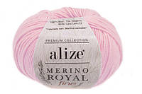 Alize Merino Royal Fine светло-розовый №31