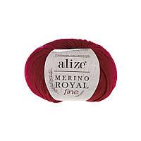 Alize Merino Royal Fine красный №56