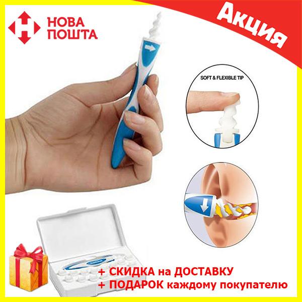 Прибор для чистки ушей Smart Swab / ушечистка / ухочистка