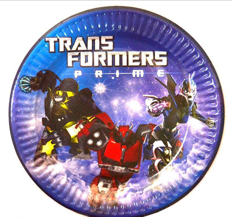 Тарелки Трансформеры 10 шт