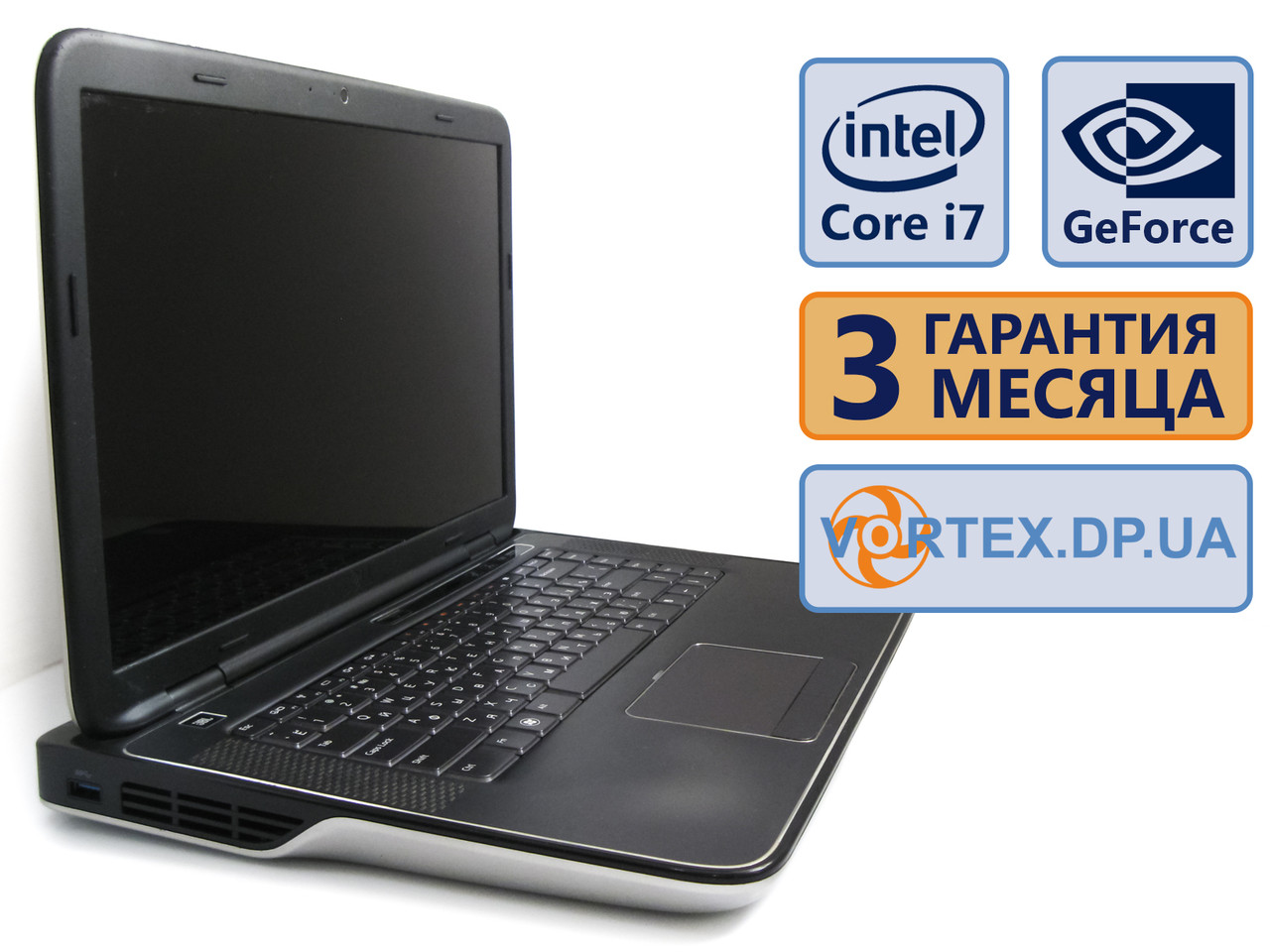 Ноутбук Dell XPS L501X 15.6 (1366x768) / Intel Core i7-740QM (4x1.73GH
