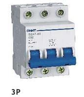 Автоматический выключатель CHINT DZ47-60 3P C 32A 4,5kA на DIN-рейку