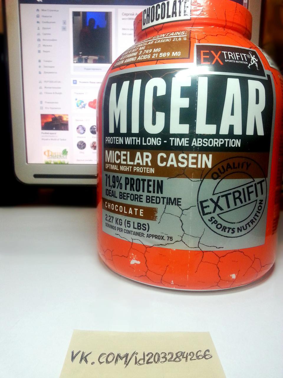 Протеин, Extrifit Micelar Casein 2270г