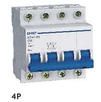 Автоматический выключатель CHINT DZ47-60 4P C 40A 4,5kA на DIN-рейку