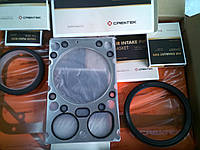 Полный комплект прокладок + прокладка под головку на двигатель WD615 WD-615, фото 1