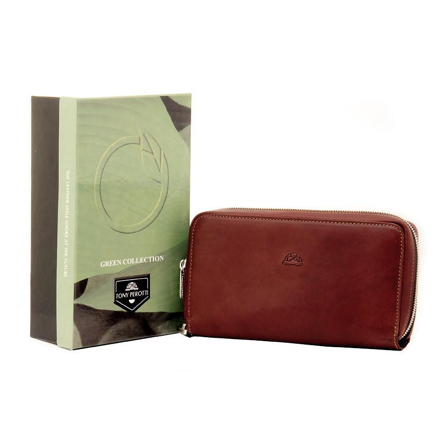 b4b040fece68 Кошелек Tony Perotti Just 2998 Z moro кожаный коричневый, цена 2 183 грн.,  купить Київ — Prom.ua (ID#728144279)