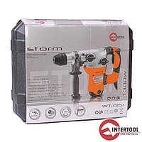 Перфоратор STORM 1500Вт, 3 режима, 0-800об/мин,0-3150уд/мин