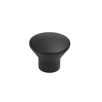 Ручка кнопка современная классика MGA-08-030Black черный матовый , фото 1