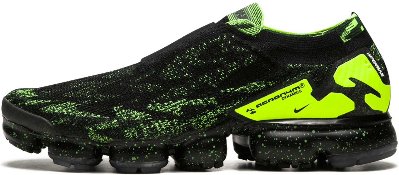 """Мужские кроссовки Nike Air VaporMax Acronym Moc 2 """"Black"""" (Найк Аир Макс) пурпурные"""