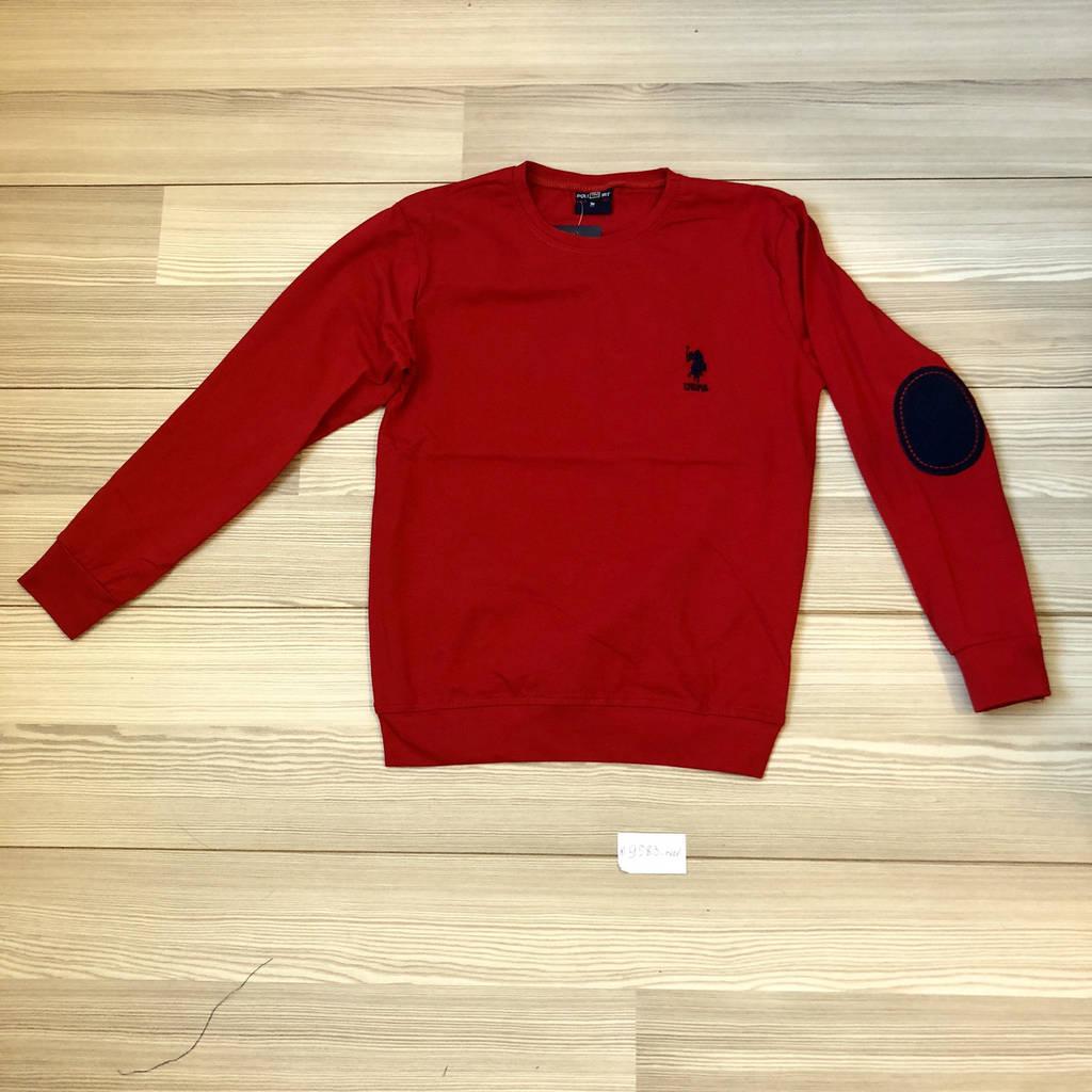 Кофта Поло для мальчика, красный  (рост140-176см)