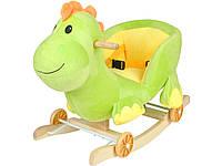 Детская музыкальная качалка Динозавр