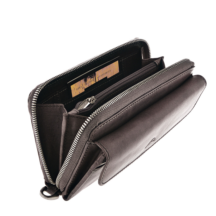 fa97d4eaa16a Кошелек-клатч Tony Perotti Vintage 1913 grigio кожаный серый, цена 2 871  грн., купить в Киеве — Prom.ua (ID#728144616)