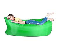 Надувной шезлонг «Ламзак» Lamzak 32001  зеленый