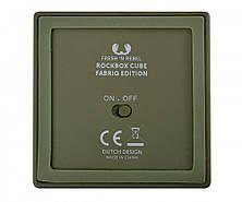 Портативная акустическая система Fresh 'N Rebel Cube зелёная, фото 2