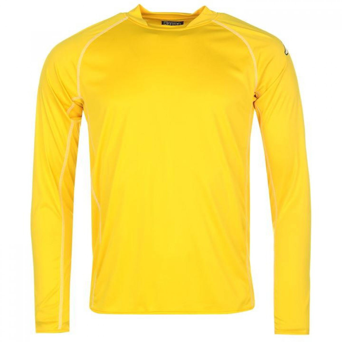 cdcb0eb9e4d6 Футболка Kappa Masa Long Sleeve Football Yellow - Оригинал — в ...