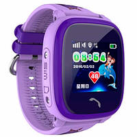 UWatch Детские часы Smart GPS DF200 Water Purple