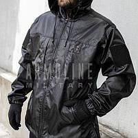 """Куртка - дождевик """"POLICE"""" (ЧЁРНАЯ) //  Размеры S, фото 4"""