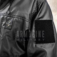 """Куртка - дождевик """"POLICE"""" (ЧЁРНАЯ) //  Размеры S, фото 7"""