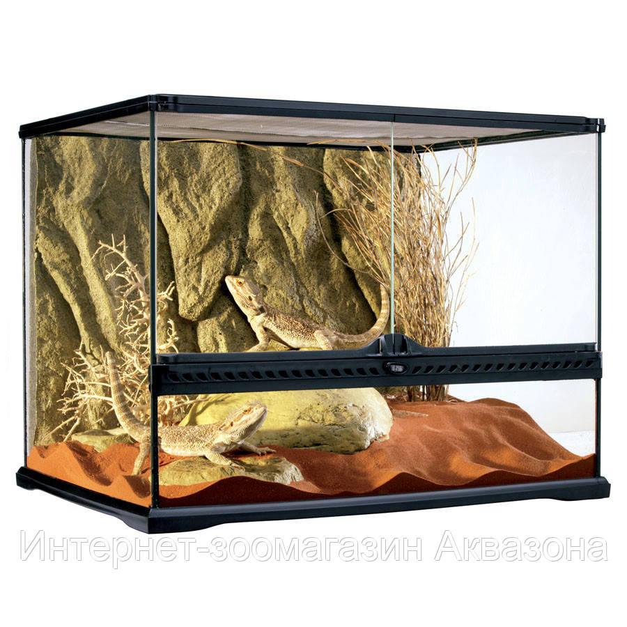 Стеклянный террариум Exo Terra Glas terrarium, 60х45х45 см