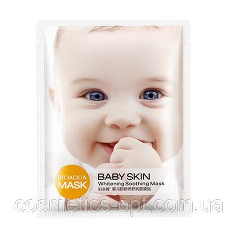 Тканевая маска осветляющая BIOAQUA Babe Skin WHITENING SOOTHING MASK