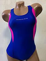 Купальник подростковый спортивный для бассейна. Mountain River. синий. 2072