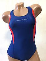 Купальник подростковый спортивный для бассейна. Mountain River. темно синий. 2072