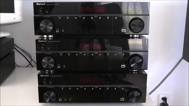Sherwood R-607 АВ-ресивер 5.1 канальный Hi-Fi класса для домашнего кинотеатра