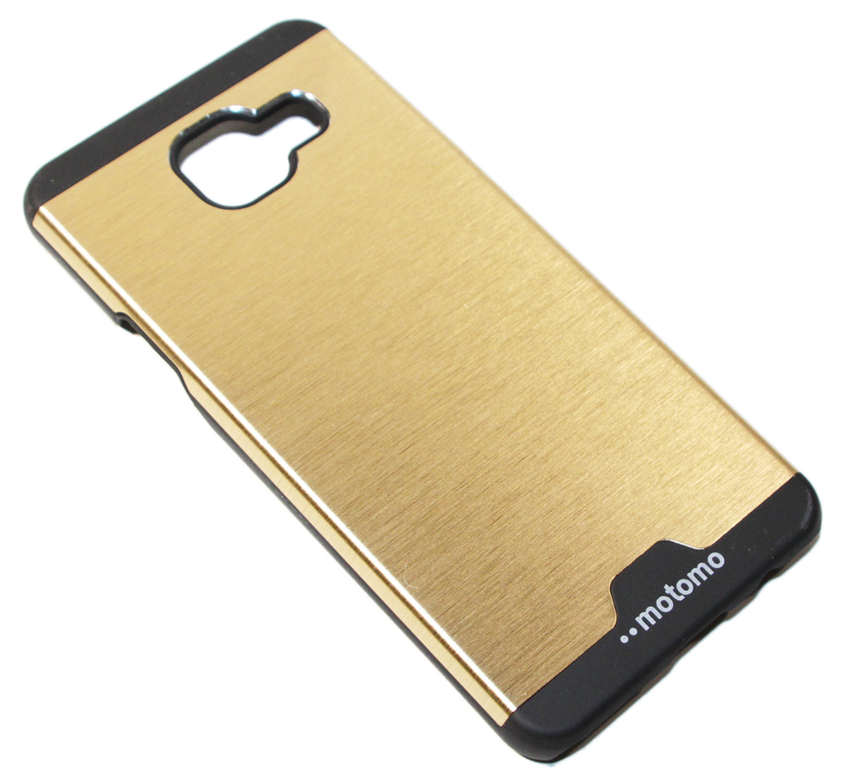 Крышка-бампер пластик+металл Motomo Soft touch for Samsung Galaxy A310